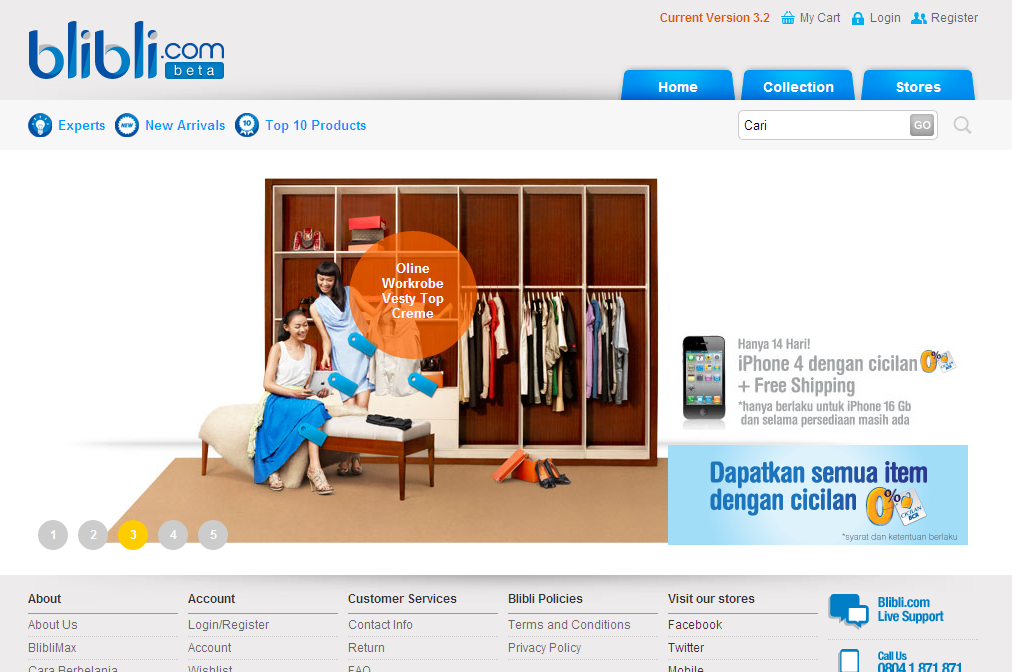 Blibli.com Screenshot