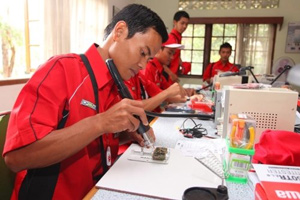 NU and Telkomsel Training