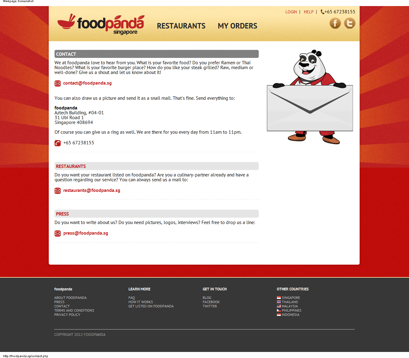 Order Food Online Delivery Philippines