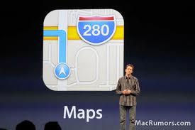 Apple iOS 6 Maps