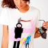 OuterEdit: From Online Collaborative Works of Art to Sharp T-Shirt Designs