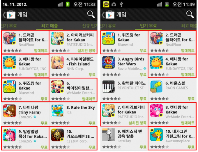 top-rankings-google-play-korea
