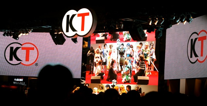 kt corporation - tokyo game show 2012