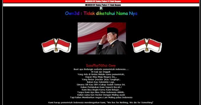 website defaced protest hacker 2