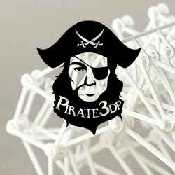 Pirate3DP funding