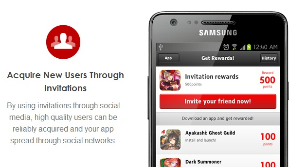 Metaps Android advertising