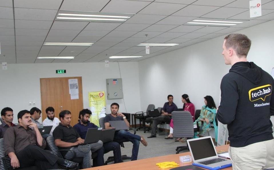 Techhub Pakistan - at Plan9
