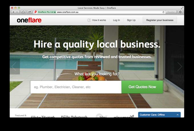 oneflare site