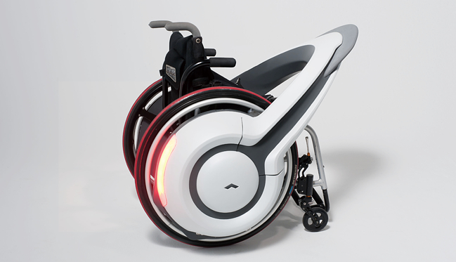 Whill Concent e-wheelchair from Japan