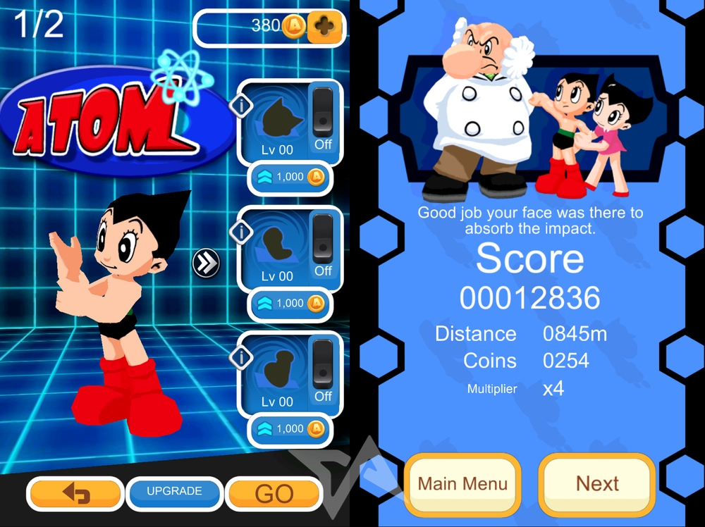 Astro Boy Dash game for Android