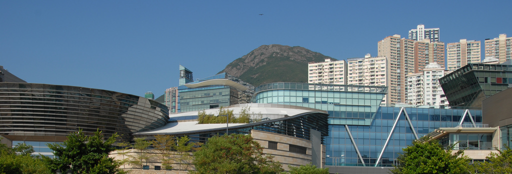 Cyberport Hong Kong - photo by das farbamt