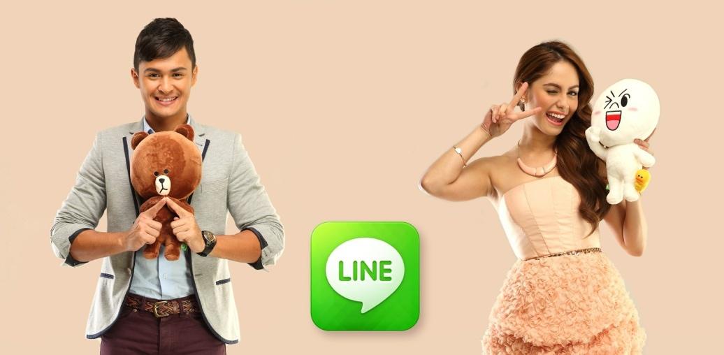 Line app revenues