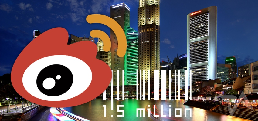 Sina Weibo users in Singapore