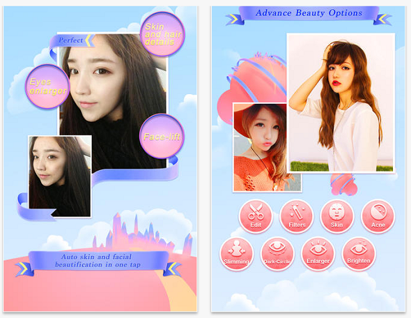 Beauty plus cho android