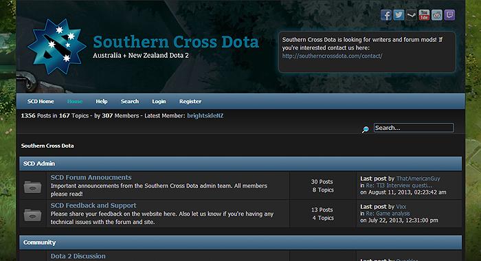 Southern Cross DOTA (SCD)