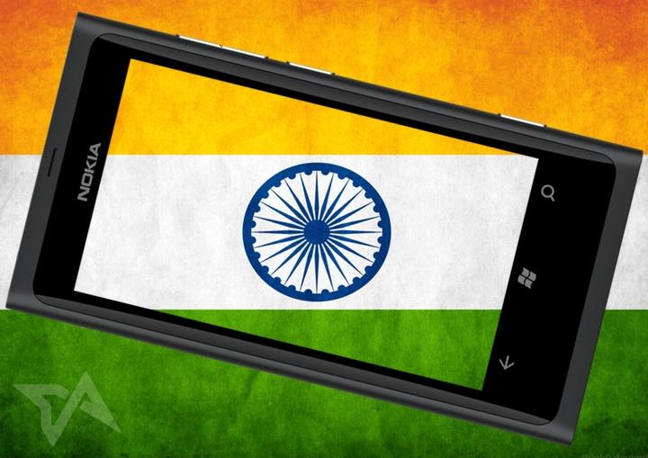 Windows Phone sales in India
