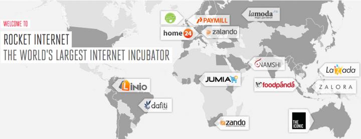 Rocket Internet network
