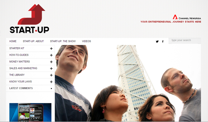 channel newsasia startup