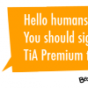 Enjoy weekly curated tech content and discounts: Introducing TiA Premium