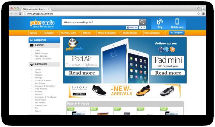 pricepanda site singapore