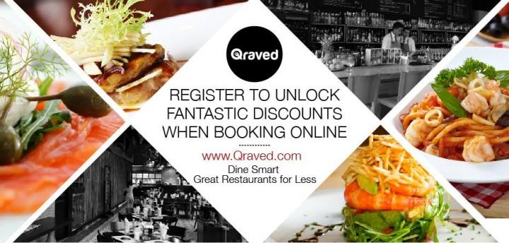 qraved discounts