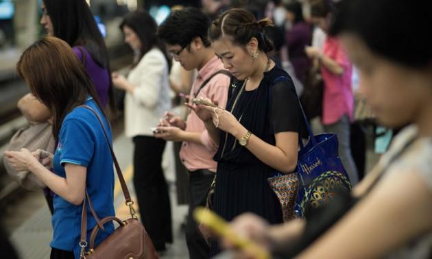 Thailand mobile internet usage