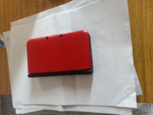 My 3DS doing the only thing it can.