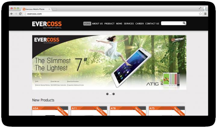 evercoss site