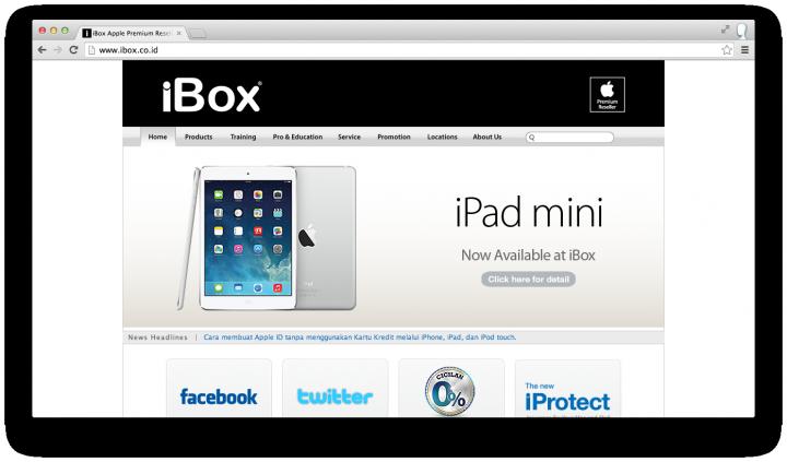 ibox site ipad mini