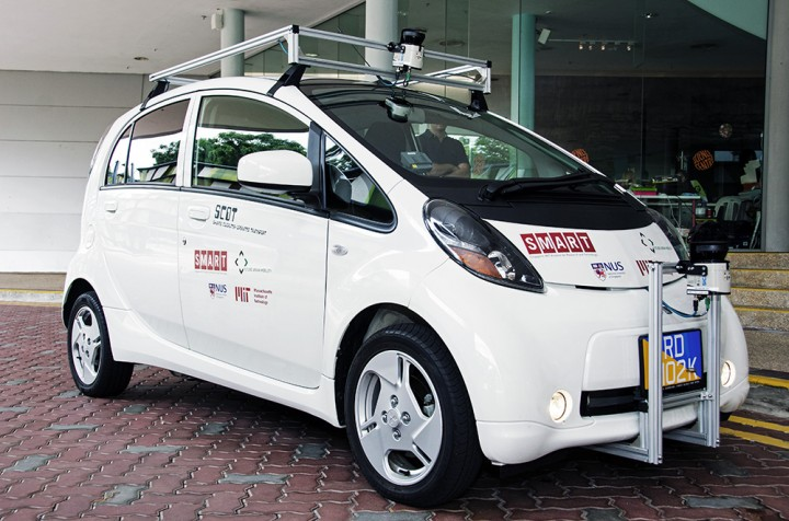 self driving cars SMART NUS