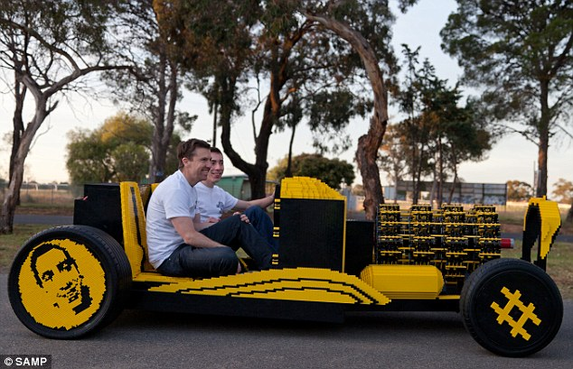 Full-size Lego car crowdfunded in Australia