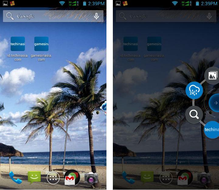 baidu browser desktop shortcut widget