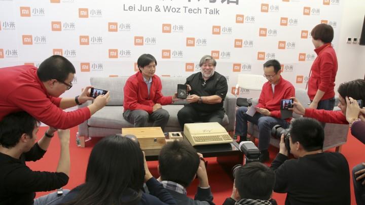 lei jun and woz 2