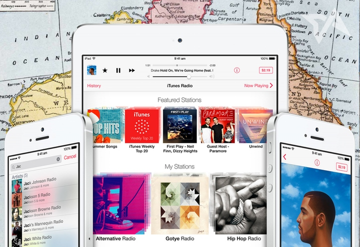 Australia gets to dive into streaming music on Apple's iTunes Radio