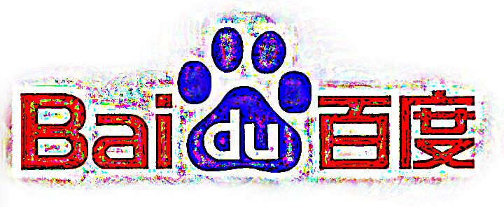 Baidu Logo rough
