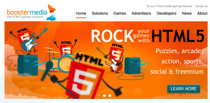 BoosterMedia HTML5