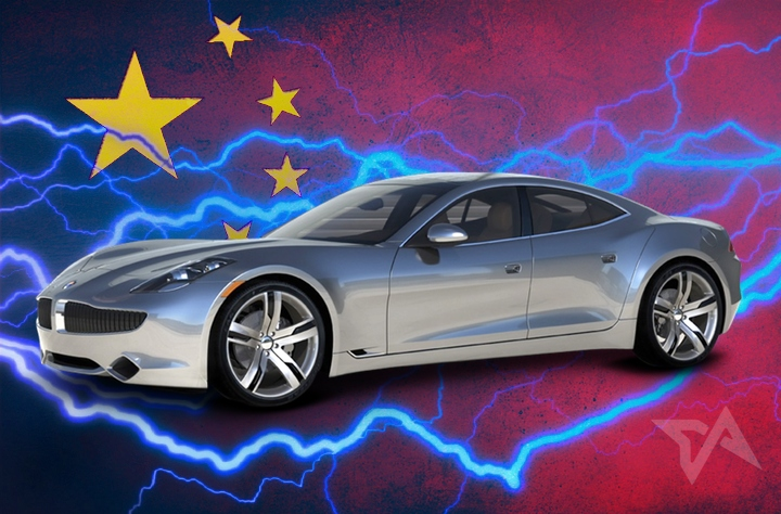 China now has a luxury electric car brand after $149 million bid for Fisker