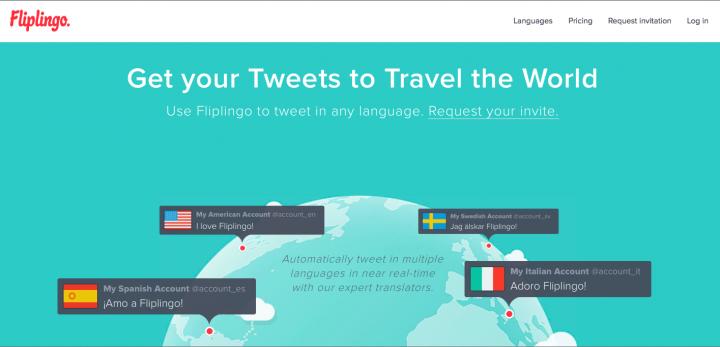 Fliplingo Twitter Translation