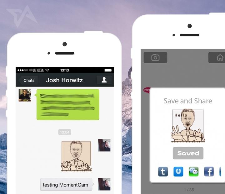 MomentCam adds GIF maker