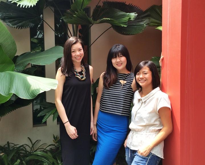art loft Alexandra Eu, Michelle Chan, Tian Qiuyan