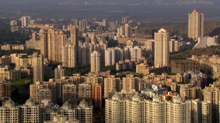 mumbai skyline india