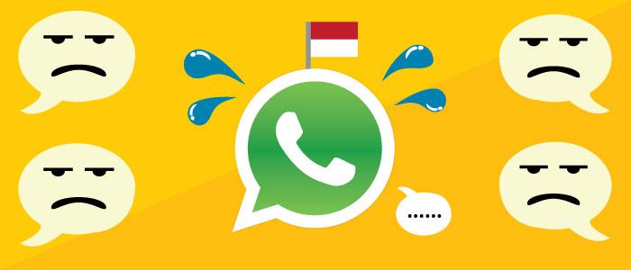 whatsapp indonesia problems