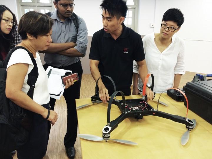 IDA Labs drone singapore