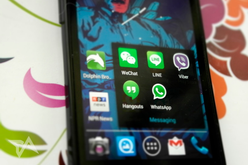 China messaging apps