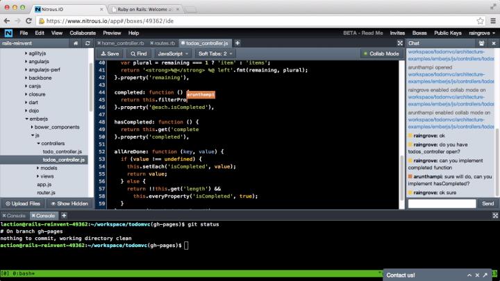 screenshot-web-ide