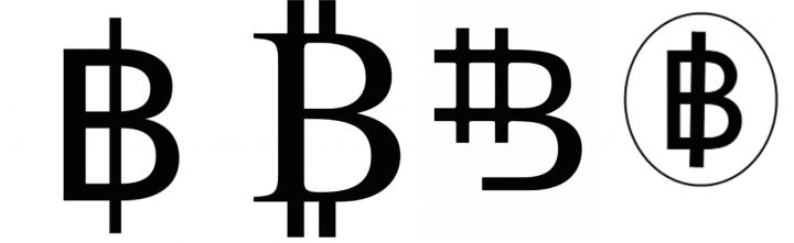 bitcoin symbols