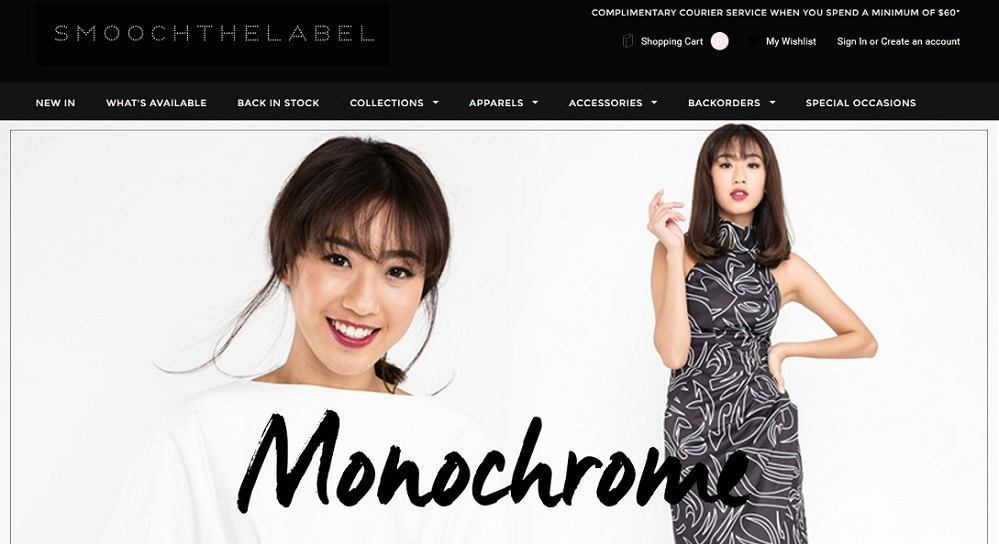 Smooch The Label - 14 popular ecommerce sites in Singapore - October 2015