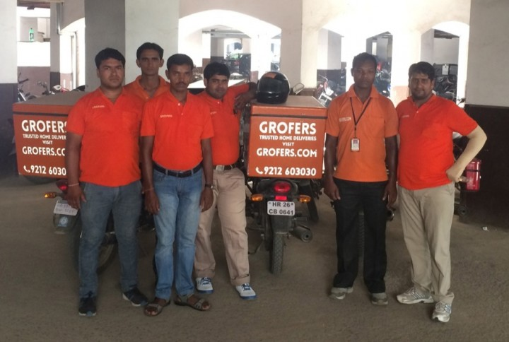 India Grofers startup logistics service for small stores