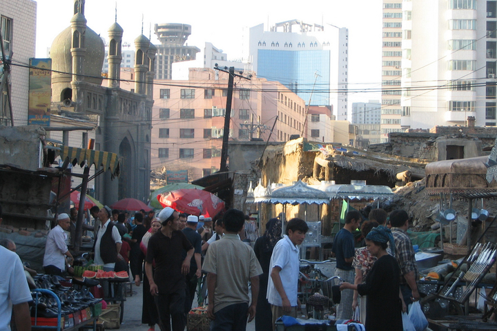 Urumqi China Market