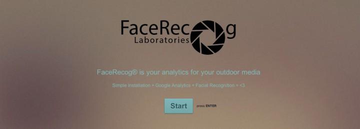 facerecog advertisements startup